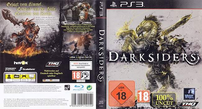 Darksiders german ps3 cover