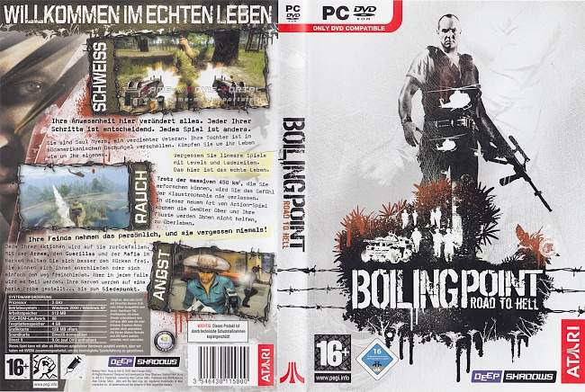 Boiling Point Road to Hell pc cover german