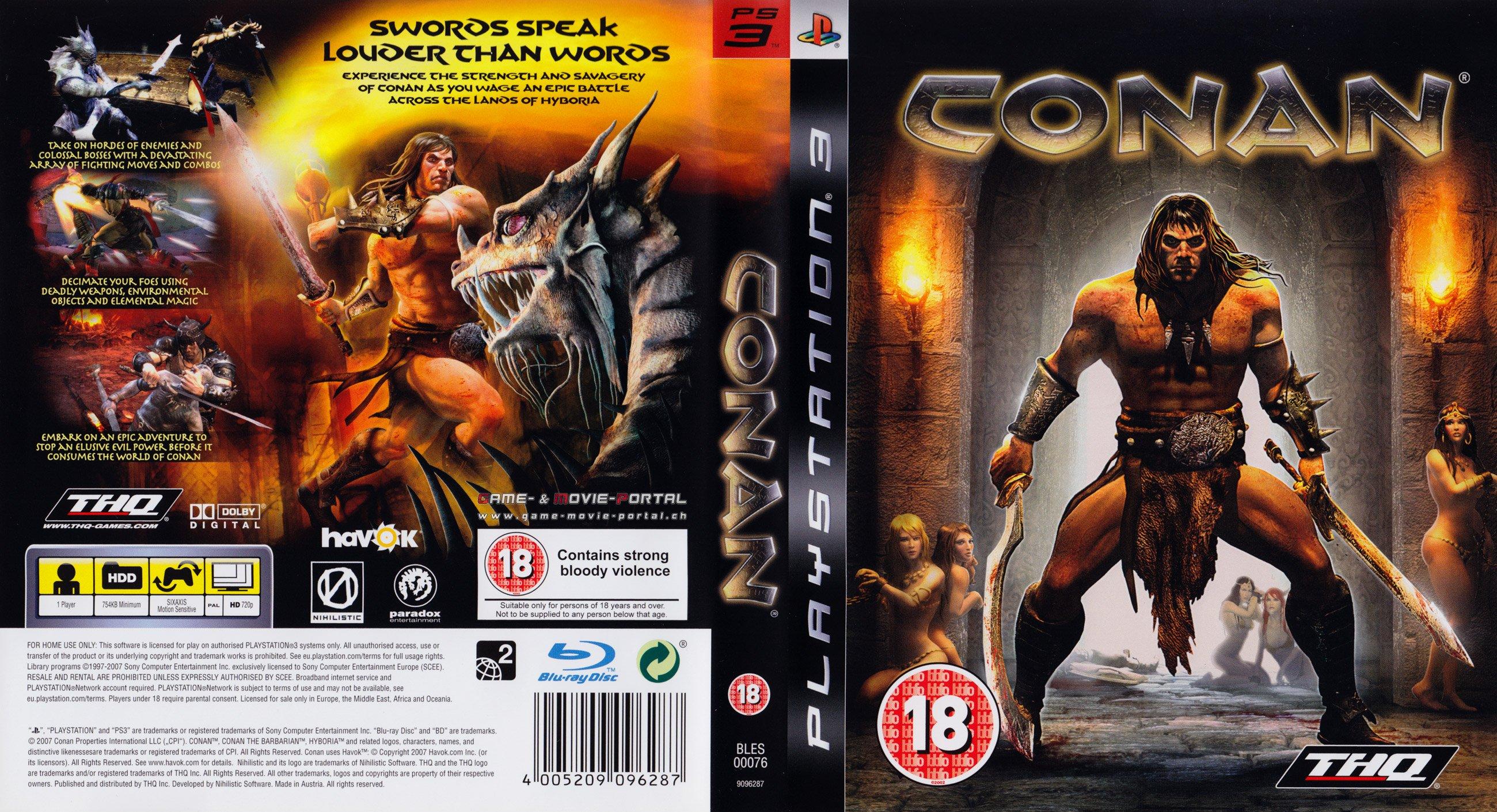 Conan German Ps3 Cover German Dvd Covers