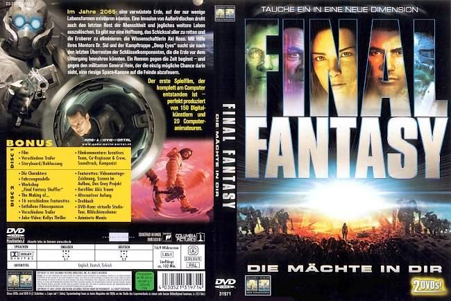 Final Fantasy Die Maechte in Dir german dvd cover