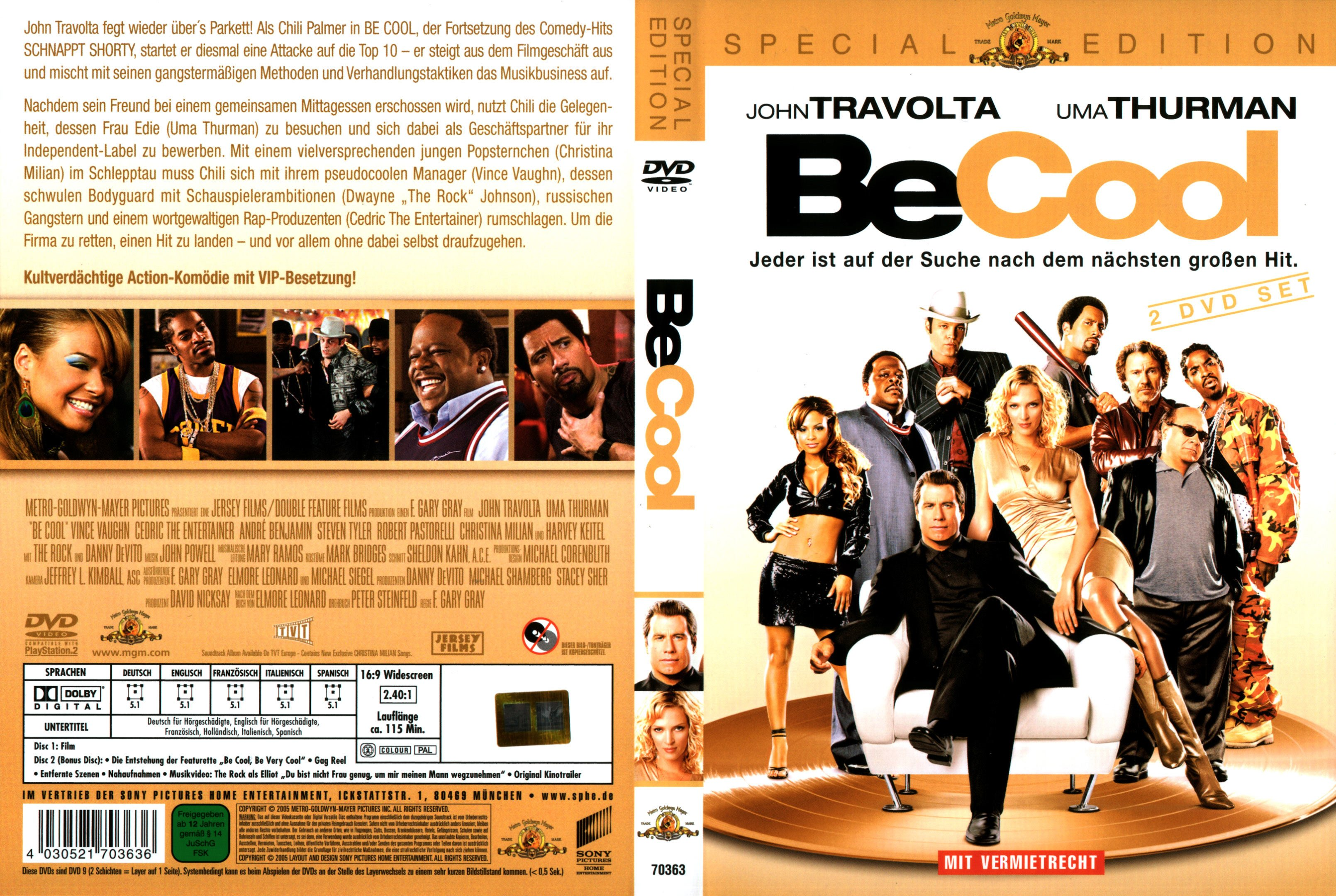 be cool german dvd cover