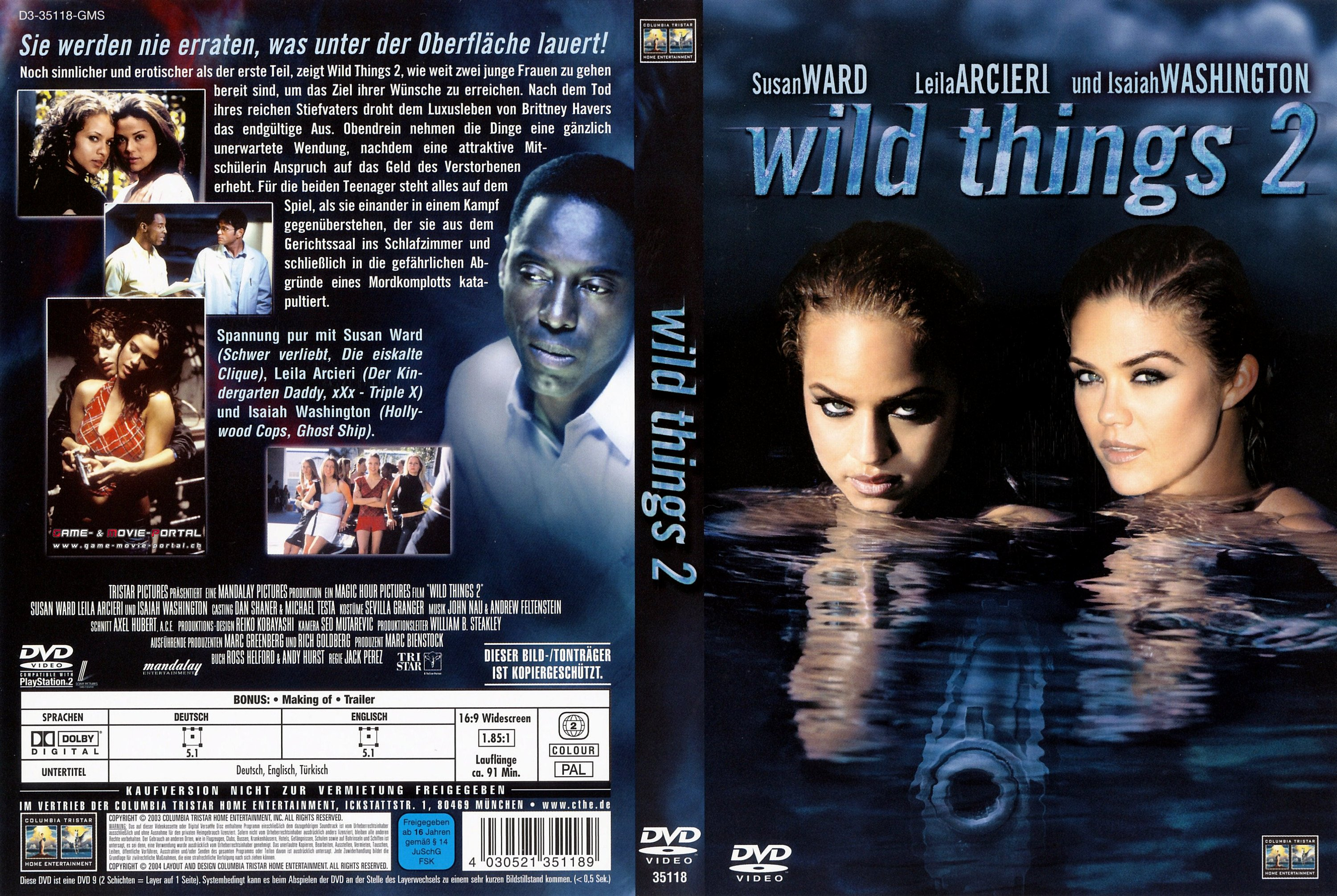 Wild Things 2 german dvd cover | German DVD Covers