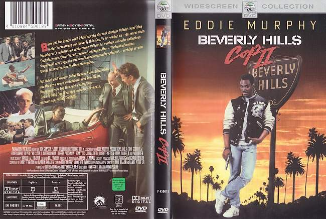 beverly hills cop 2 german dvd cover german dvd covers