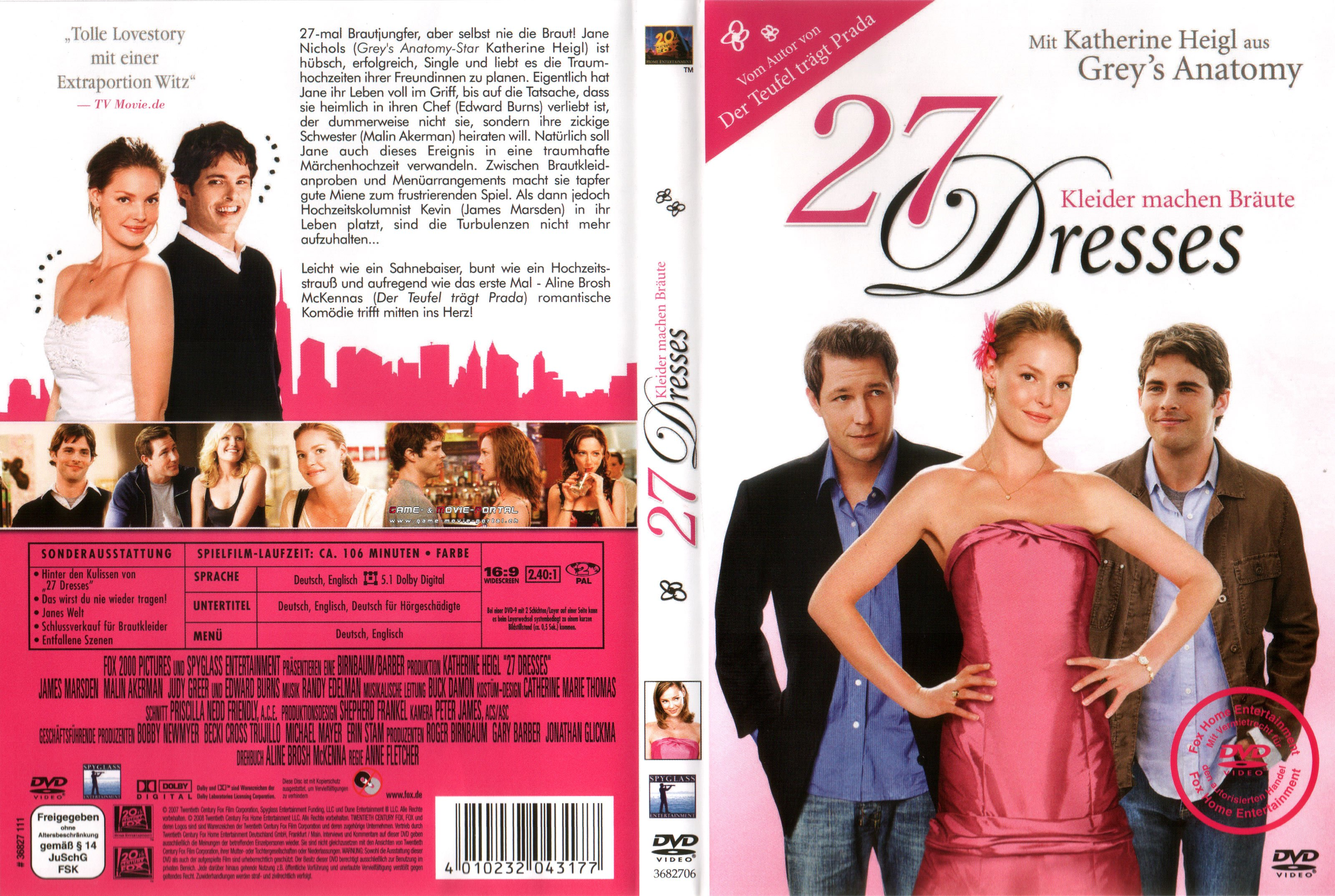 27 dresses 2008 imdb 27 dresses 2008 imdb 27 dresses cover