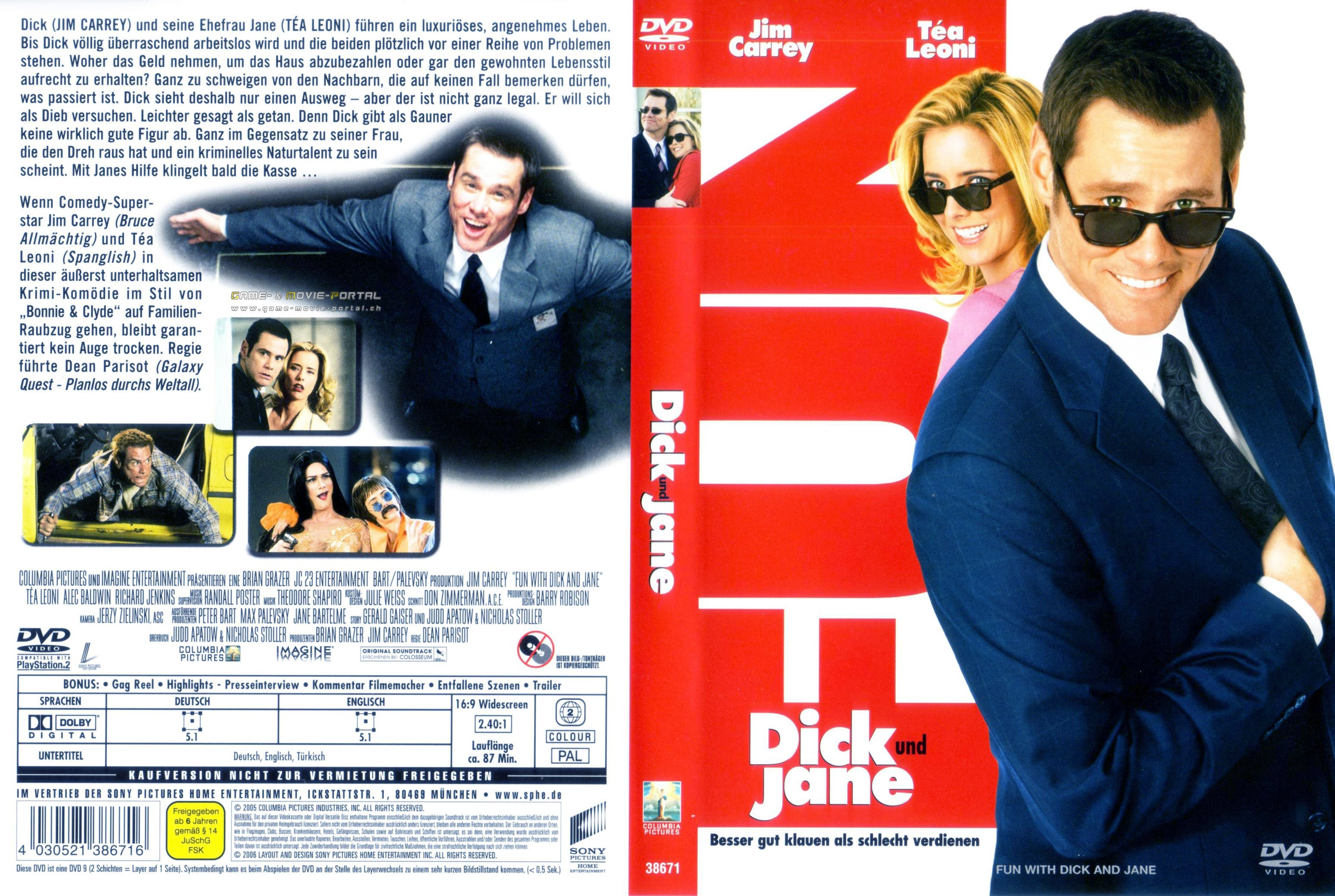 Dick and jane dvd cover