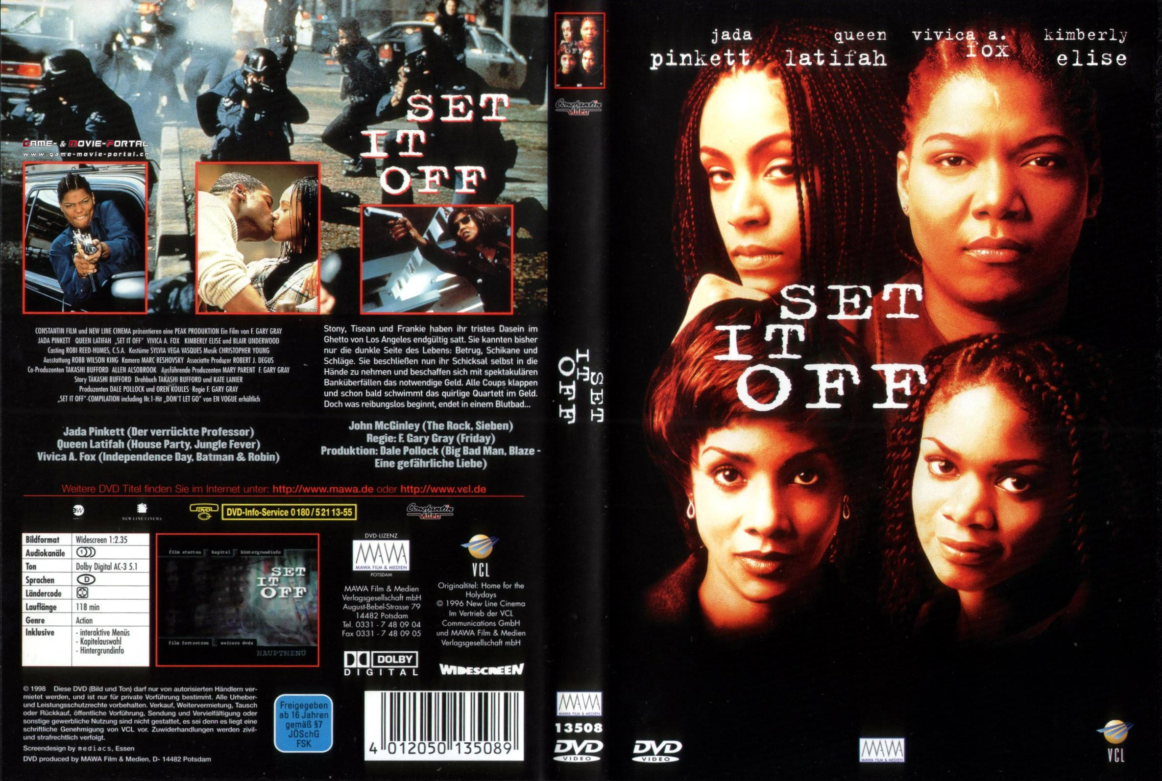 Set it Off german dvd cover | German DVD Covers