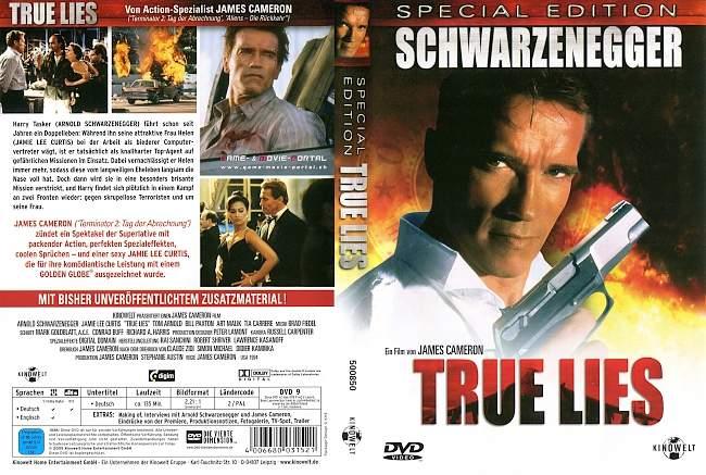 True Lies Wahre Luegen 2 german dvd cover