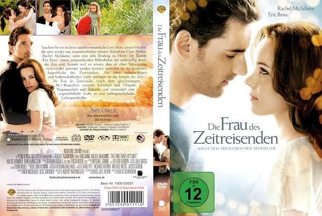 Die Frau Des Zeitreisenden dvd cover german