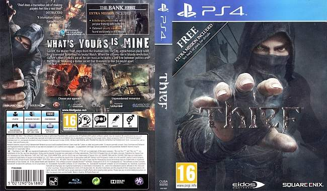Thief English Console Covers german ps4 cover