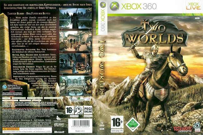 Two Worlds xbox 360 cover german