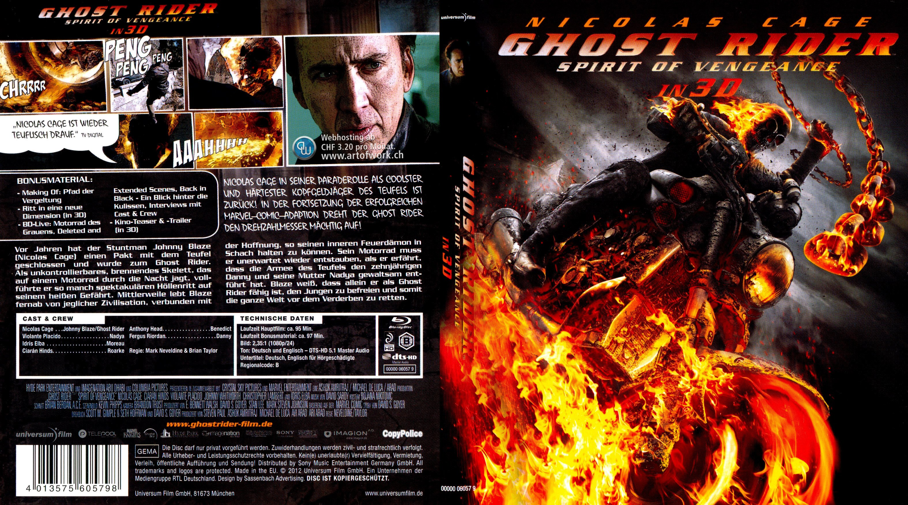 Ghost Rider 2 Stream German