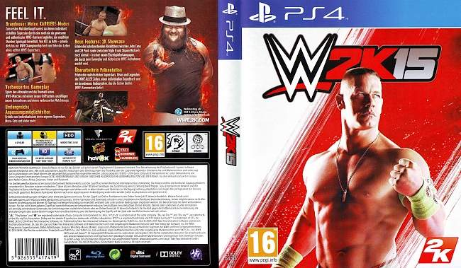 W2K15 german ps4 cover