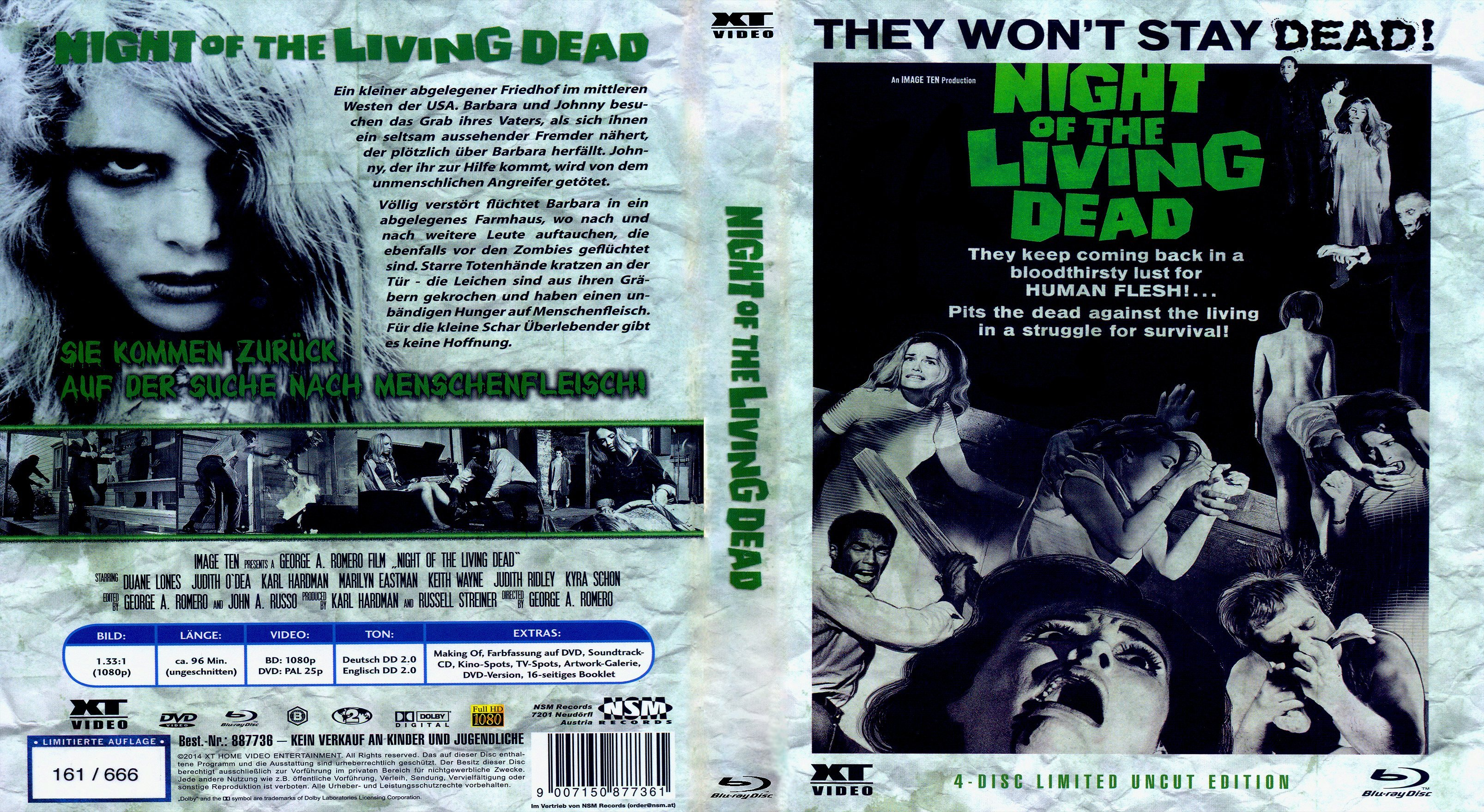 a comparison of world war z by max brook and night of the living dead by george romero