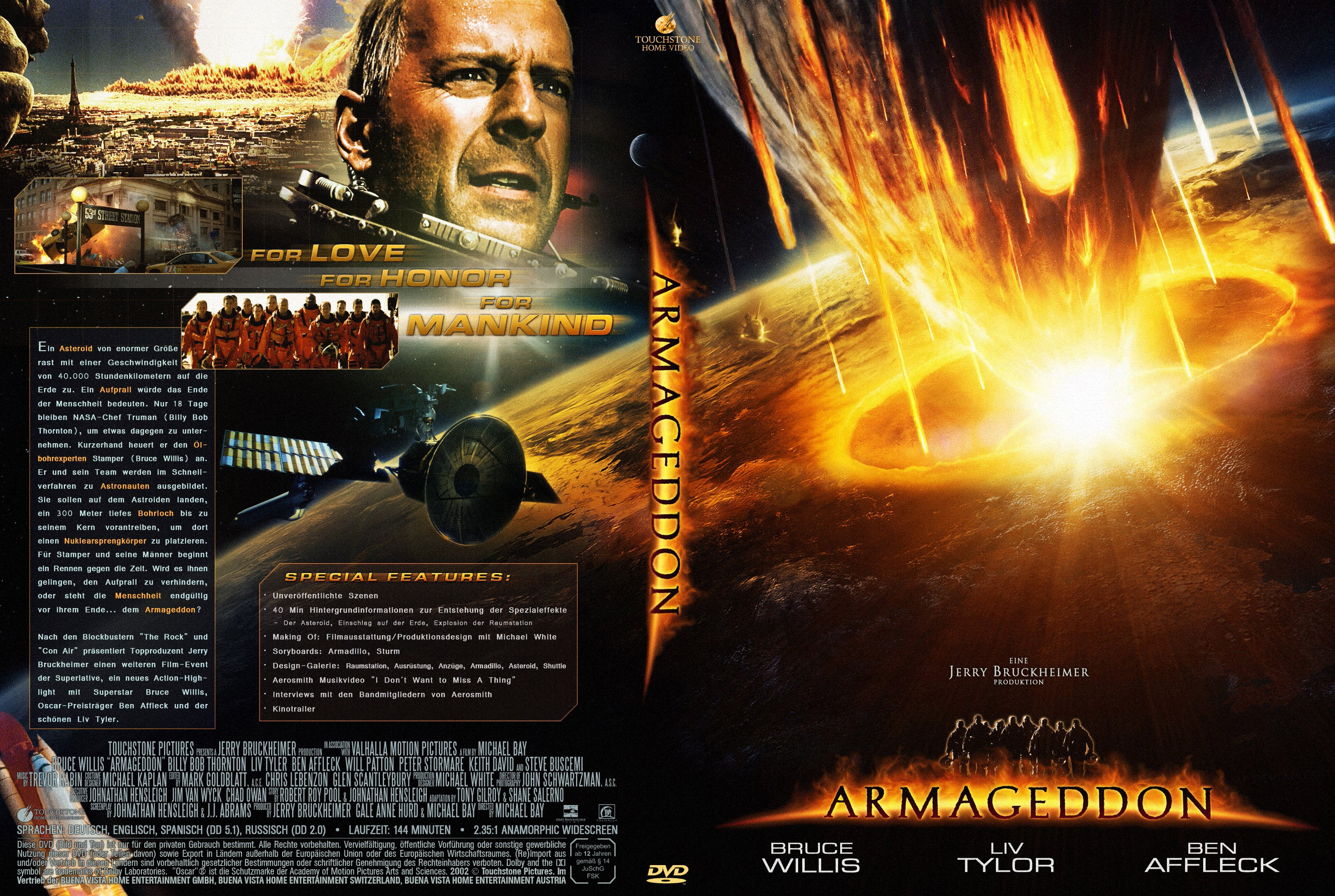 analytical view of armageddon movie