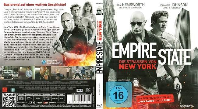 empire state die strassen von new york dwayne johnson german blu ray cover german dvd covers. Black Bedroom Furniture Sets. Home Design Ideas