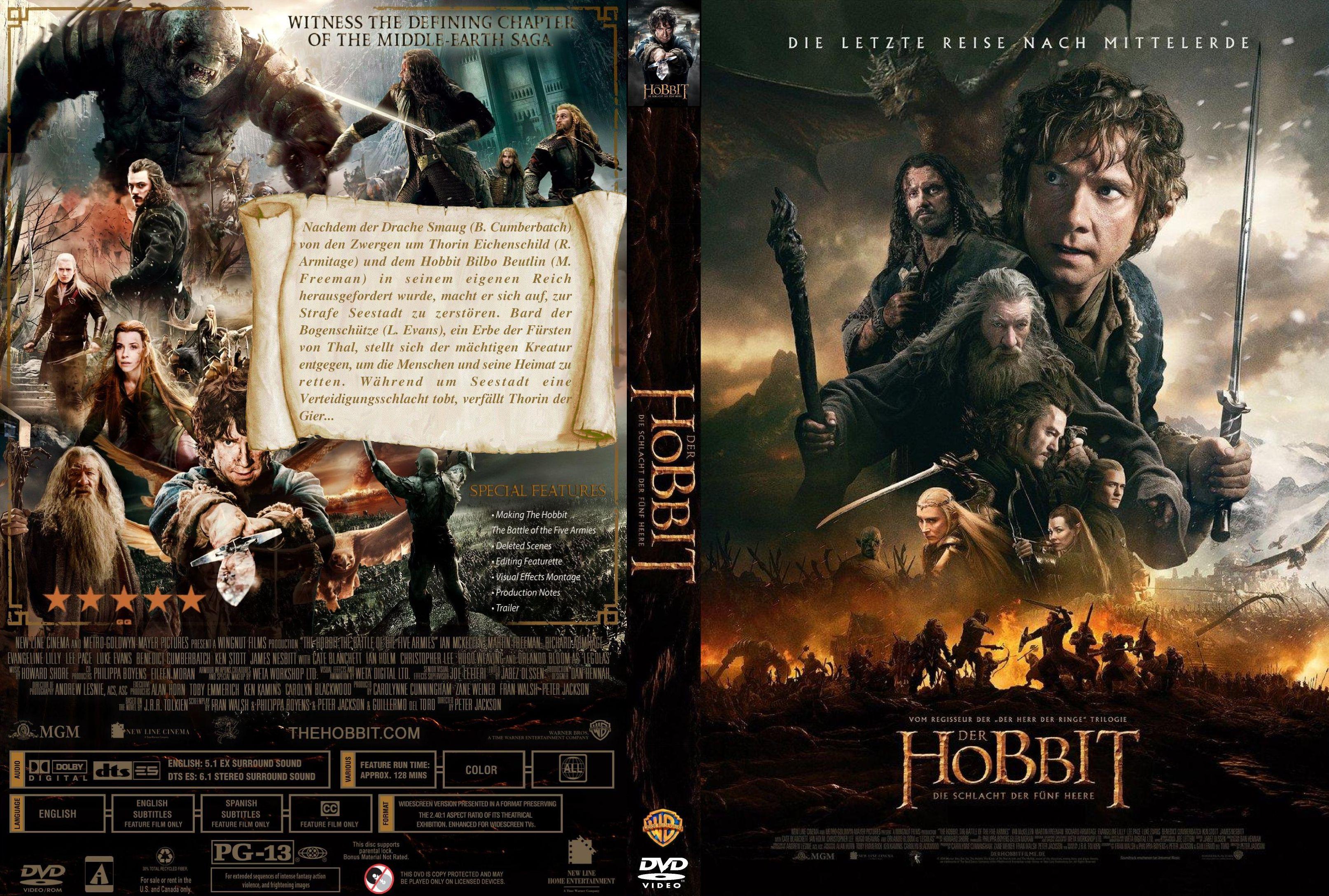 Der Hobbit Die Schlacht Der Fünf Heere Imdb