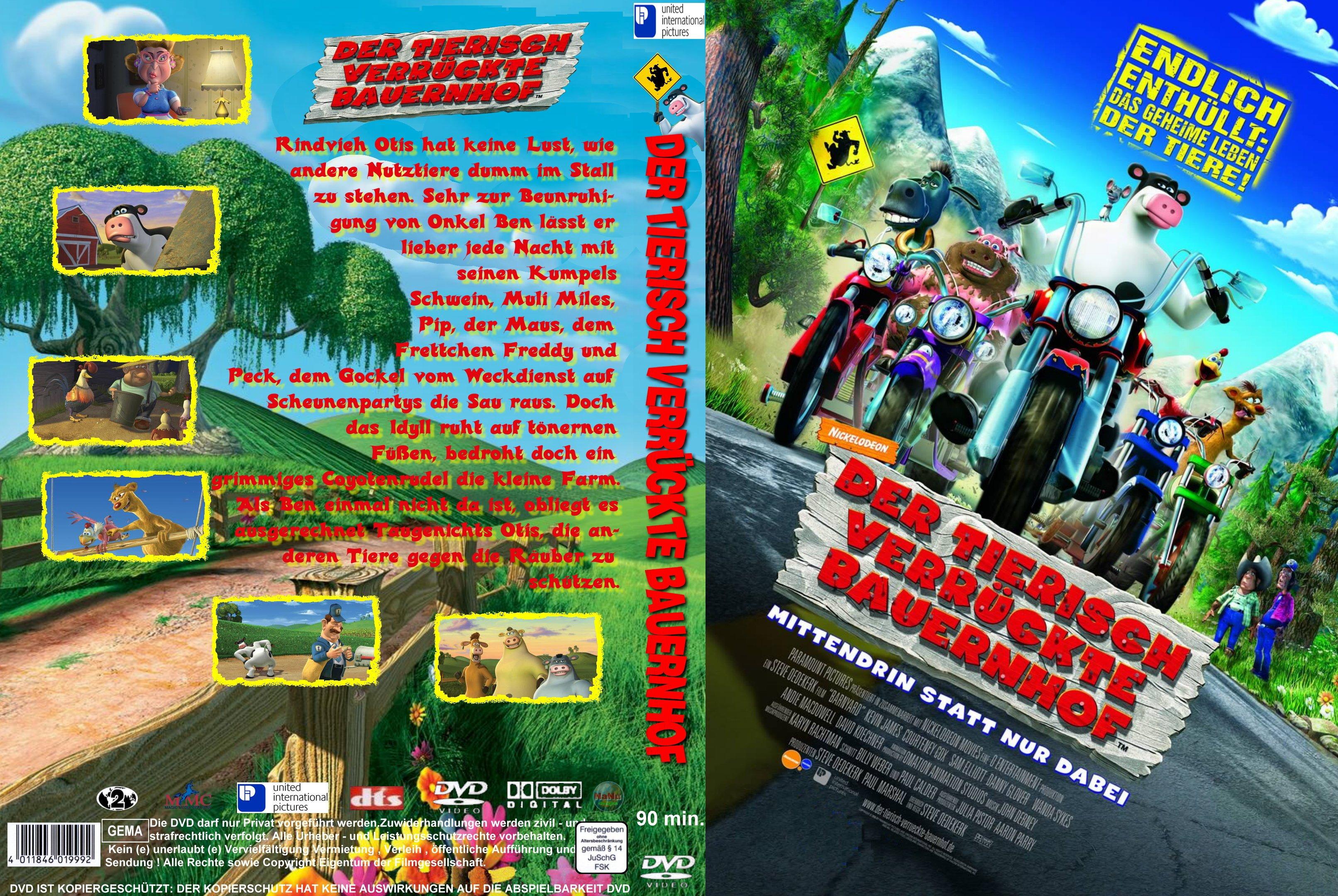Der tierisch verrückte Bauernhof | German DVD Covers
