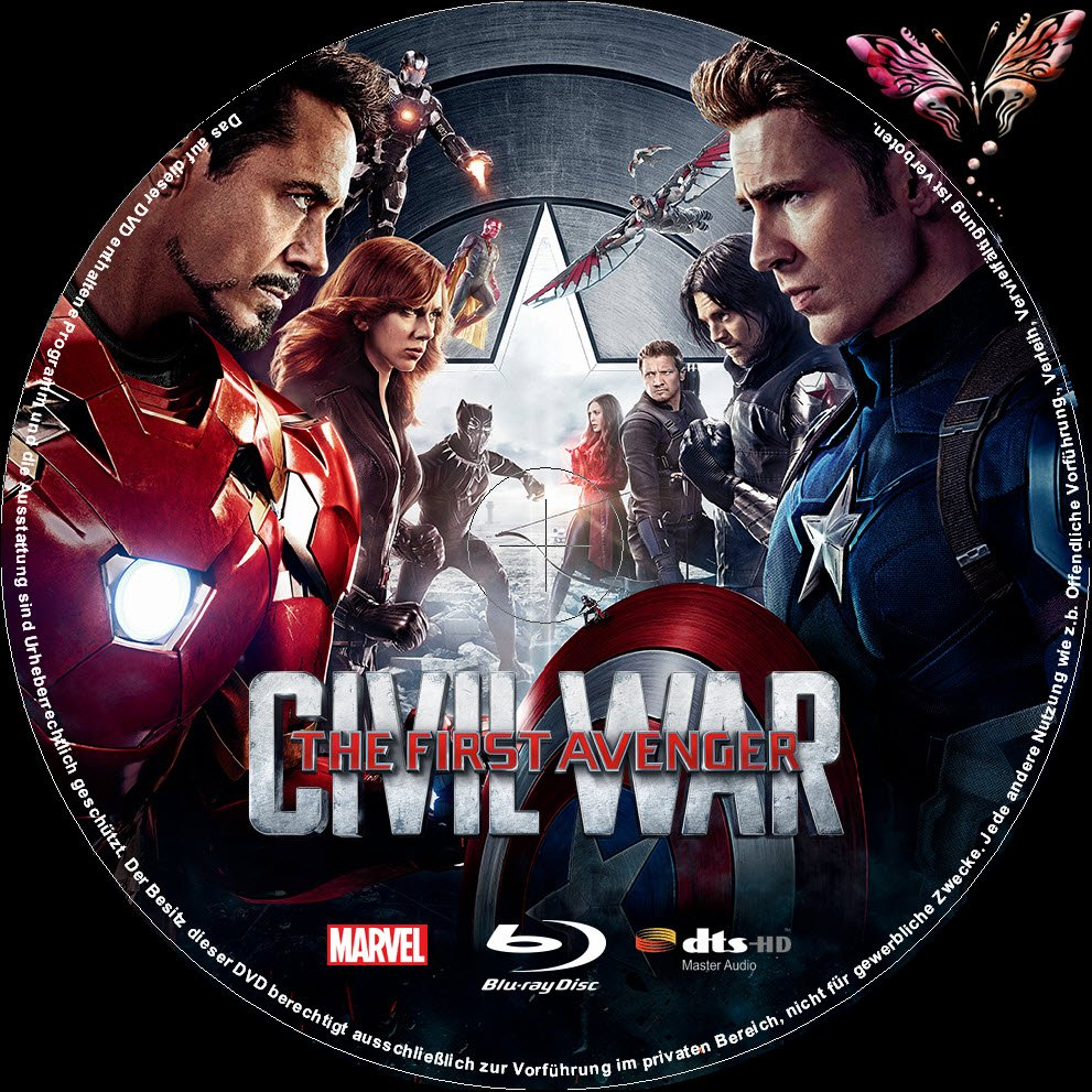 captain america civil war dvd deutschland