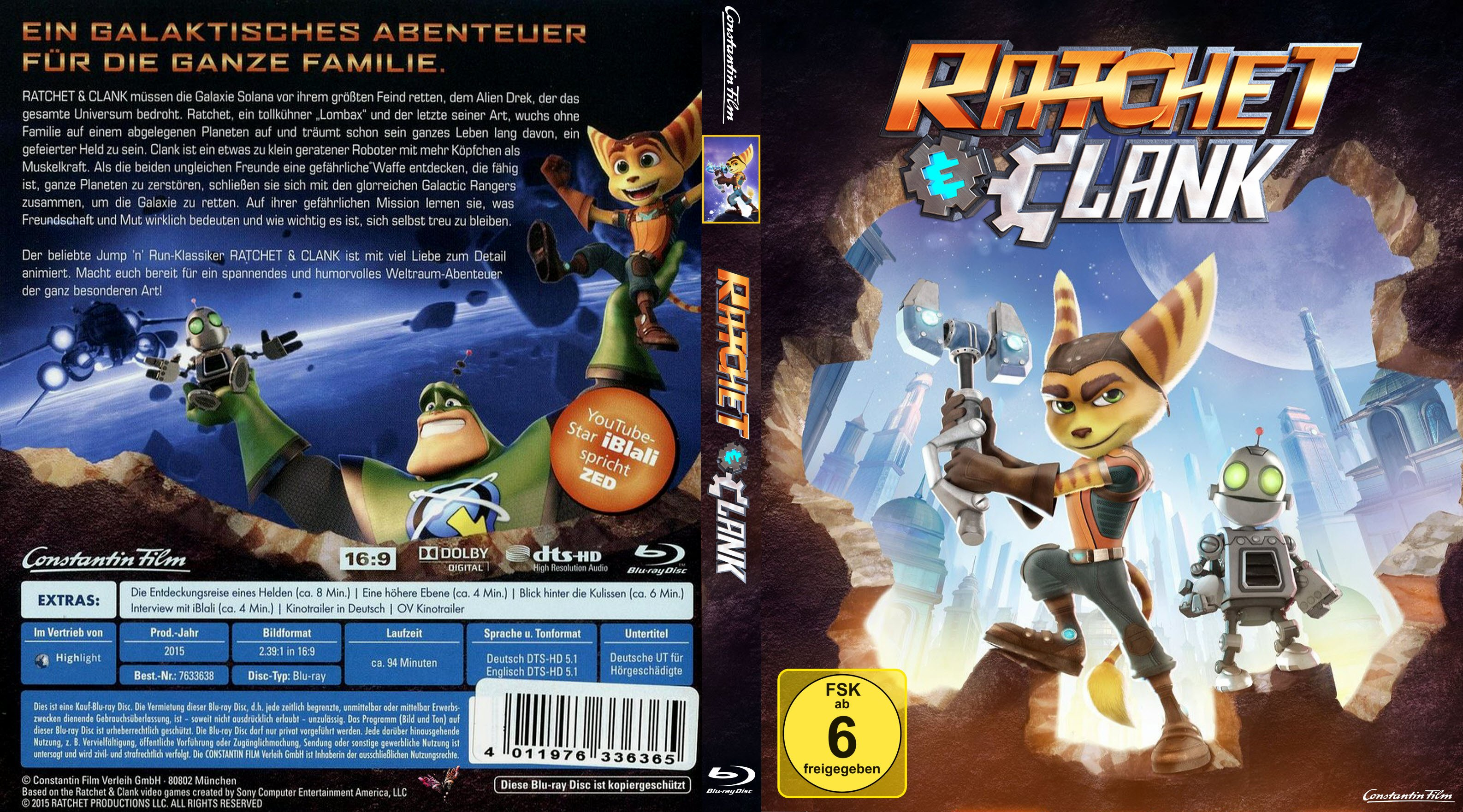 ratchet clank ps4 cover