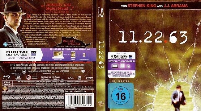 11 22 63 Stephen King Der Anschlag german blu ray cover