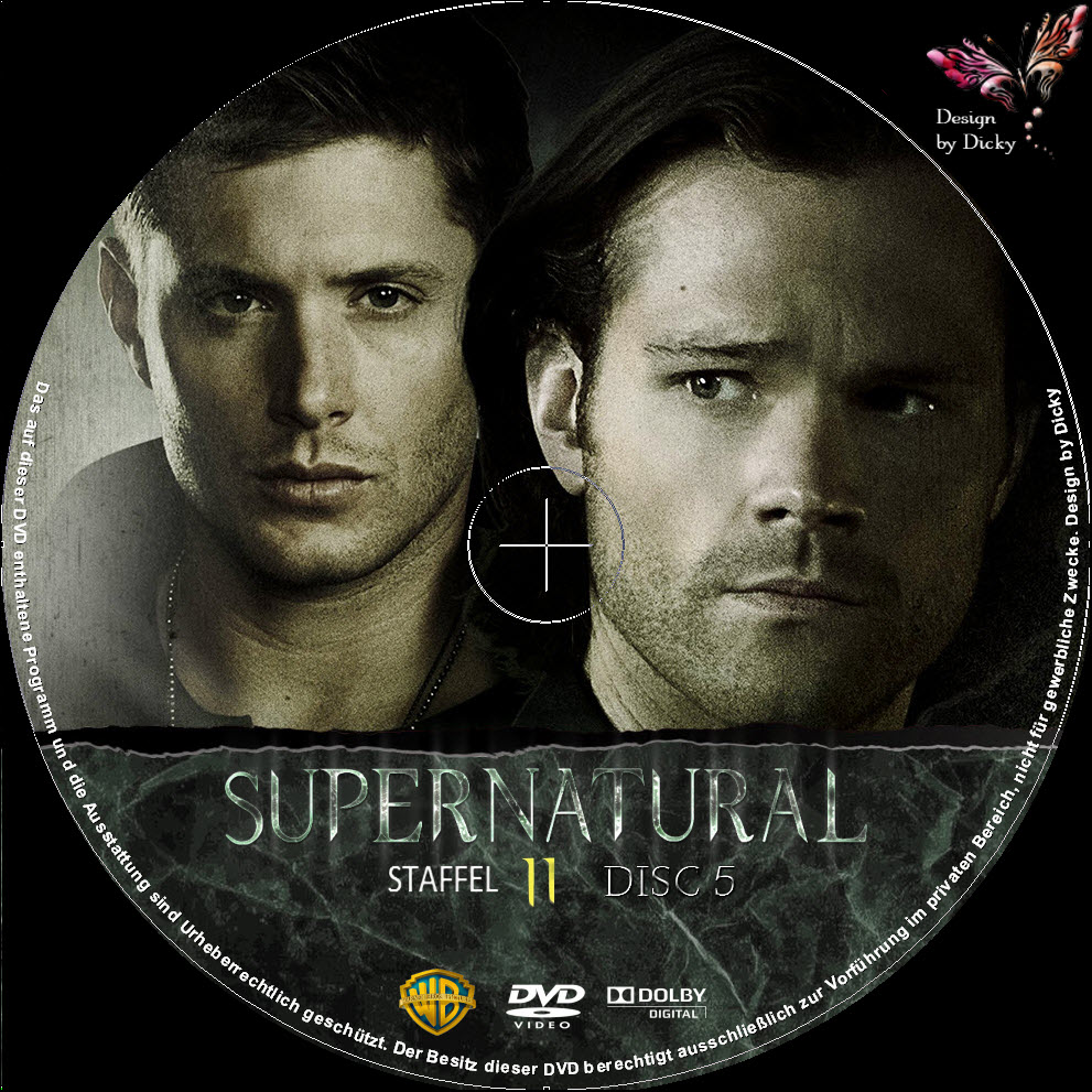 Supernatural Staffel 11 Dvd
