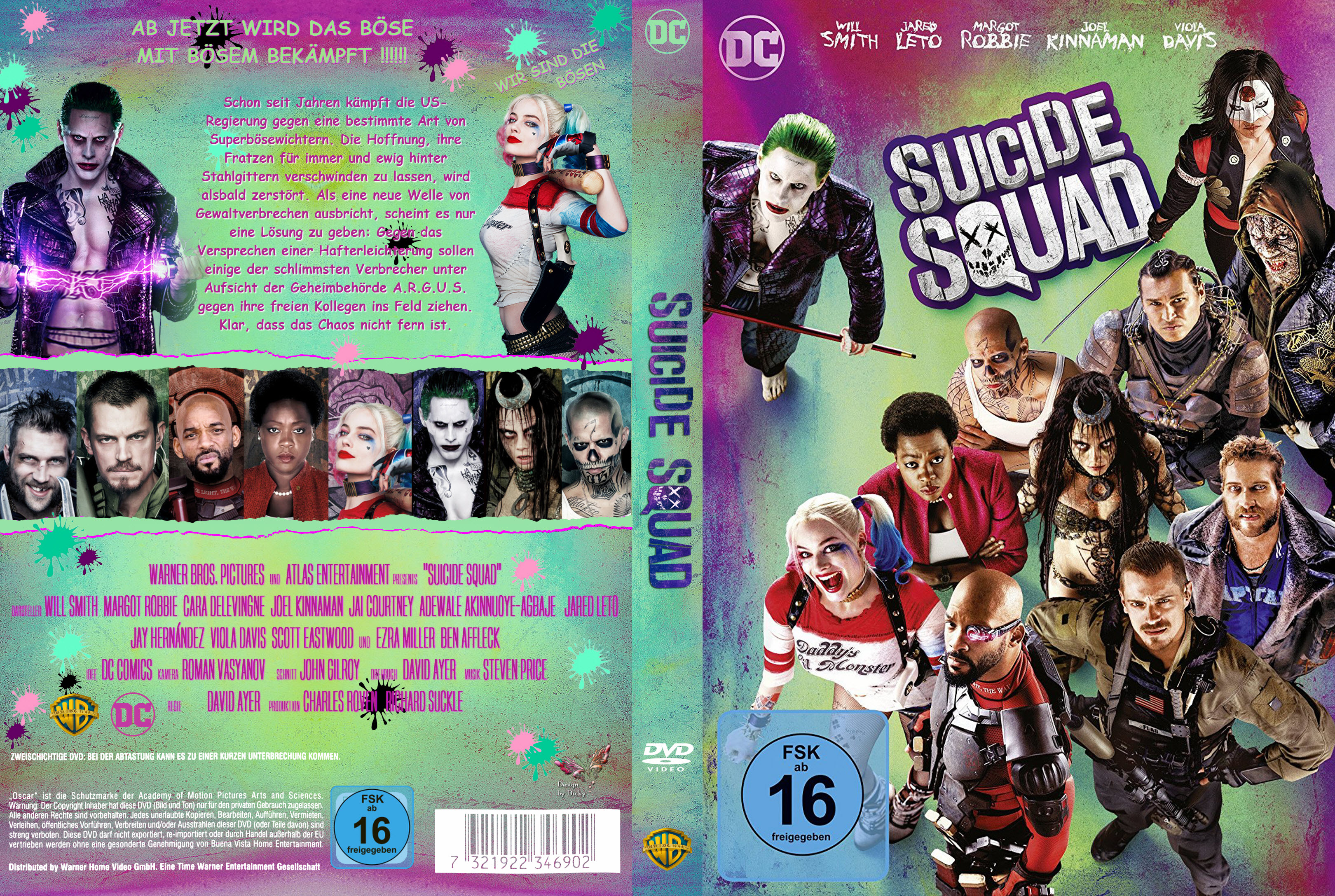 Suicide Squad | German DVD Covers