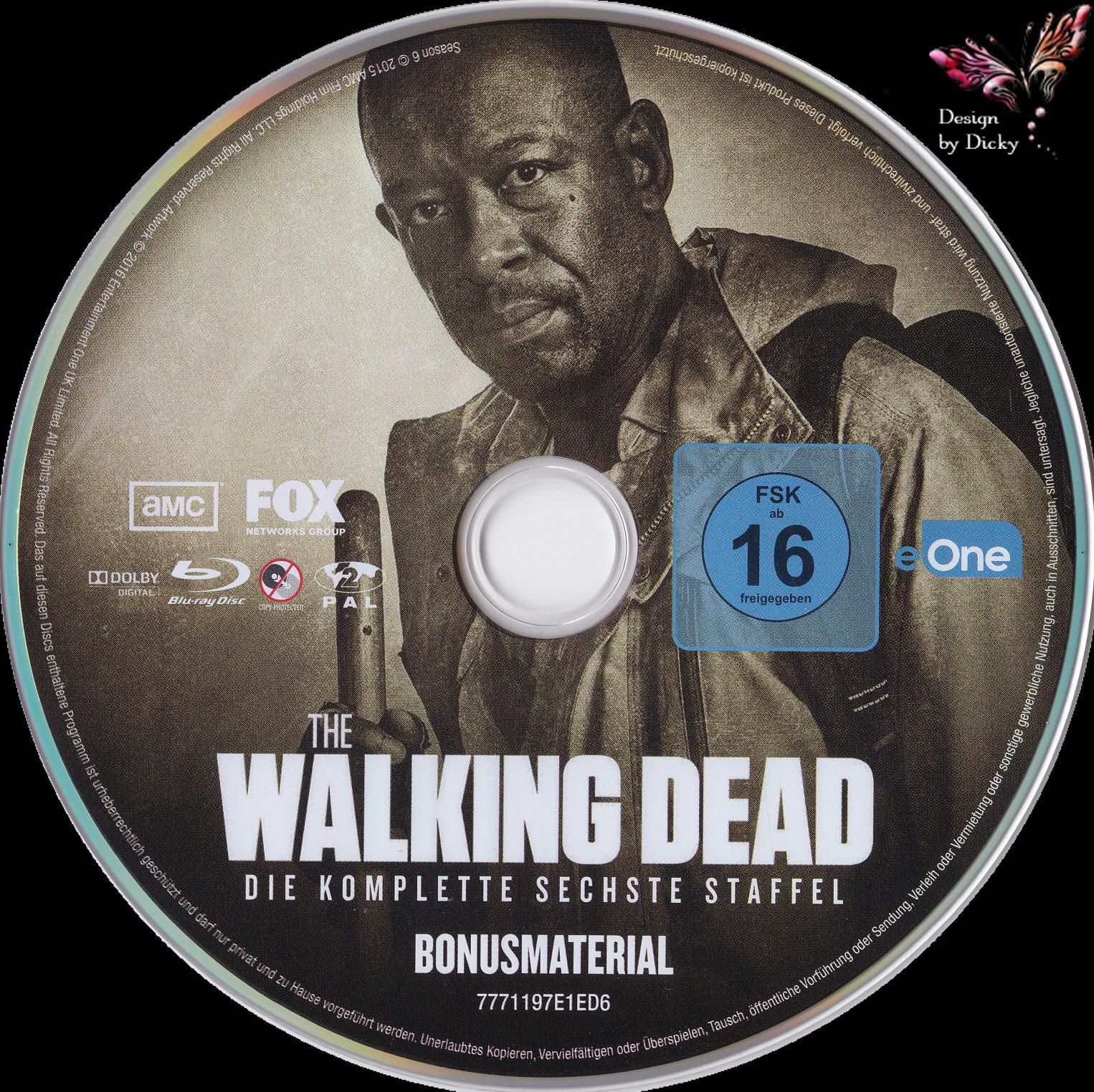 Dvd The Walking Dead Staffel 6