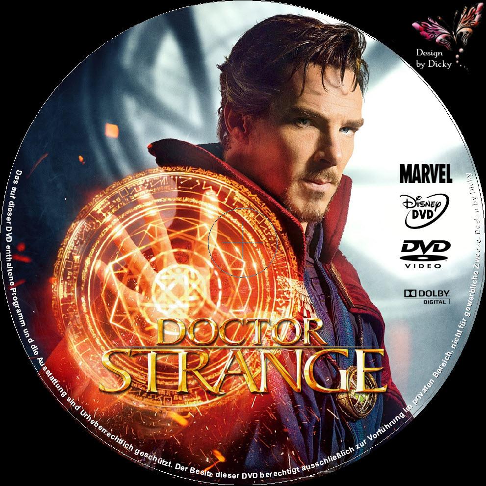 dr strange dvd