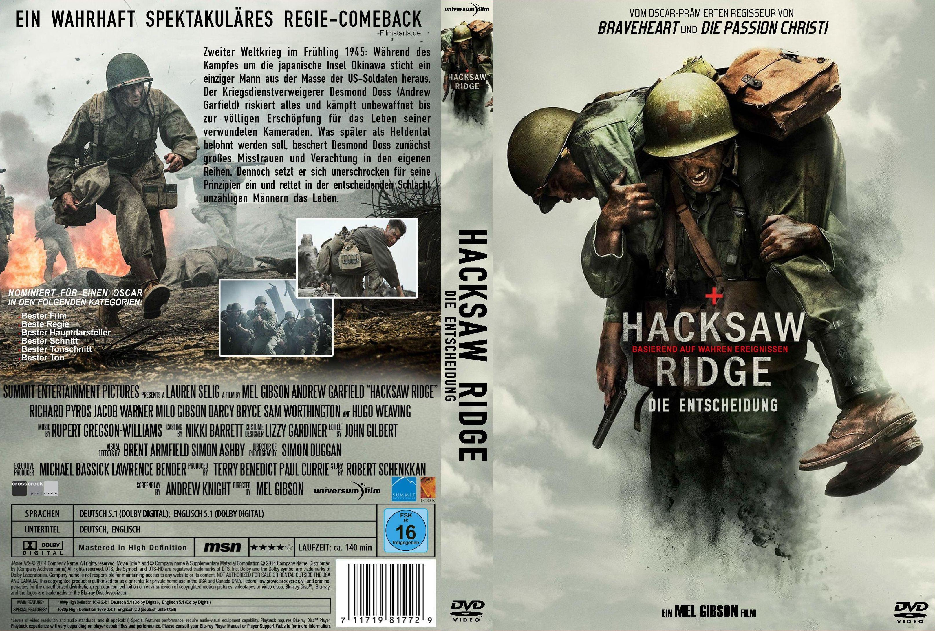 Hacksaw Ridge Deutsch
