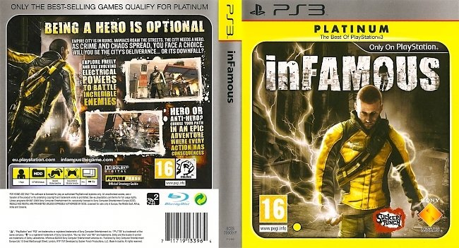 InFamous ps3 cover german