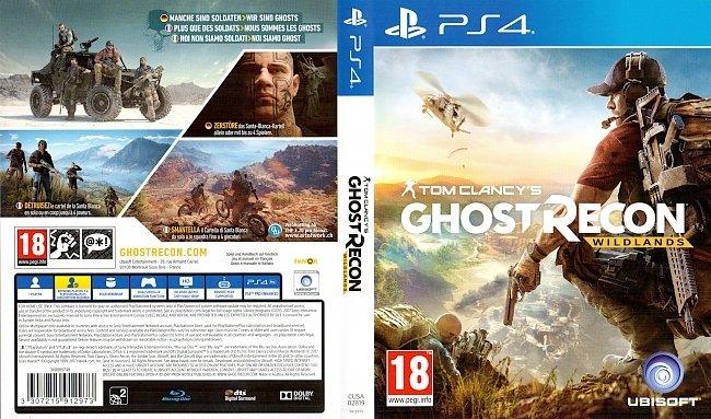 Tom Clancy Ghost Recon Wildlands PS4 Cover german deutsch german ps4 cover