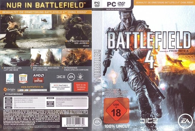 Battlefield 4 pc cover german