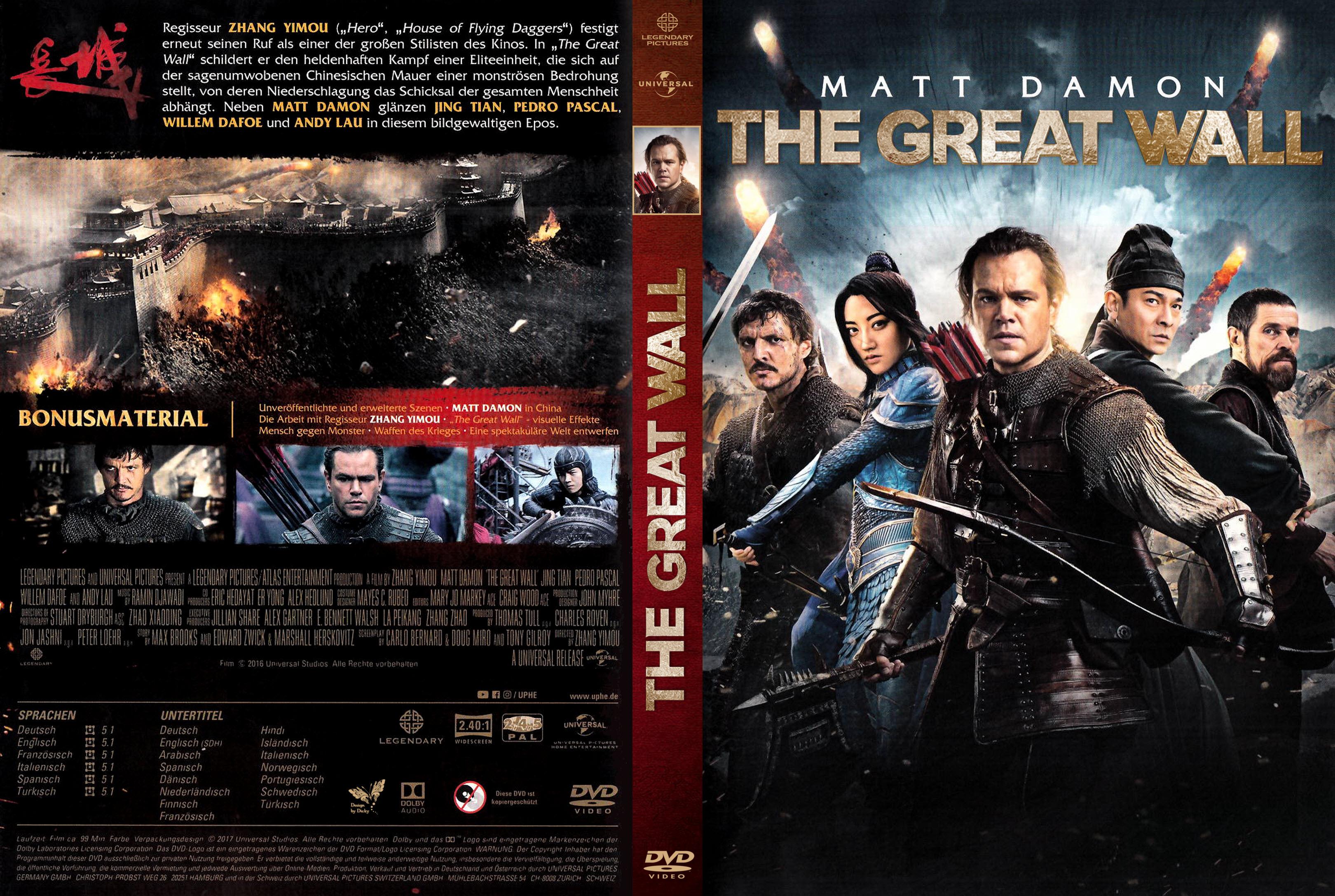 The Great Wall Film Deutsch