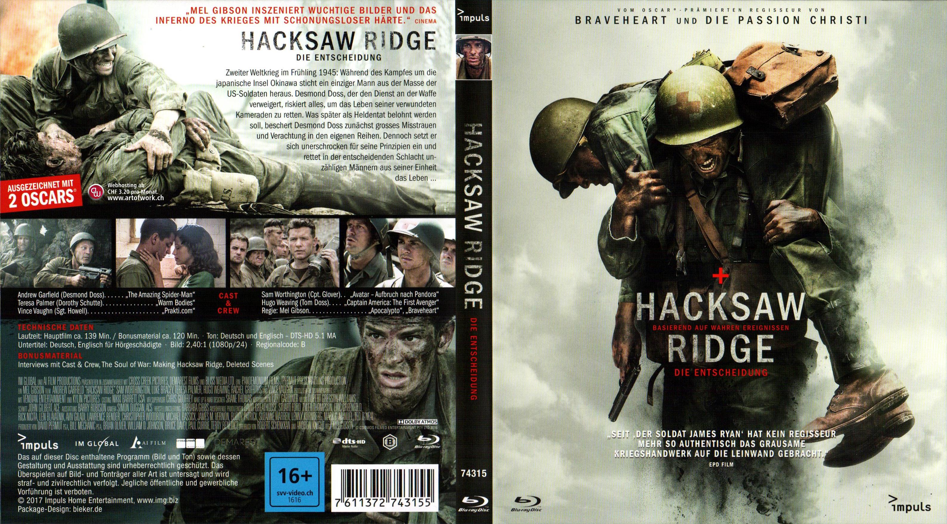 Hacksaw Ridge Deutsch