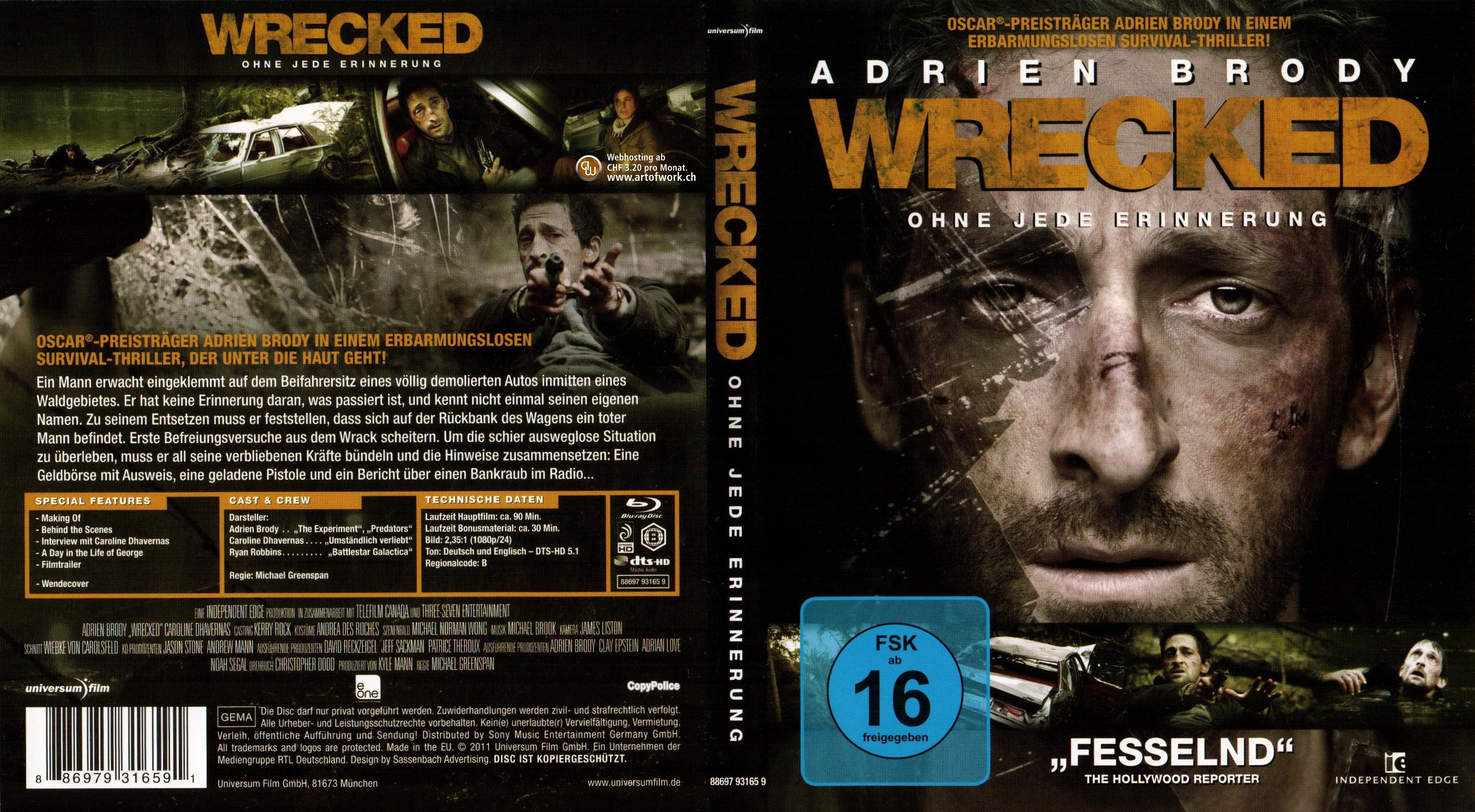 Wrecked Deutsch