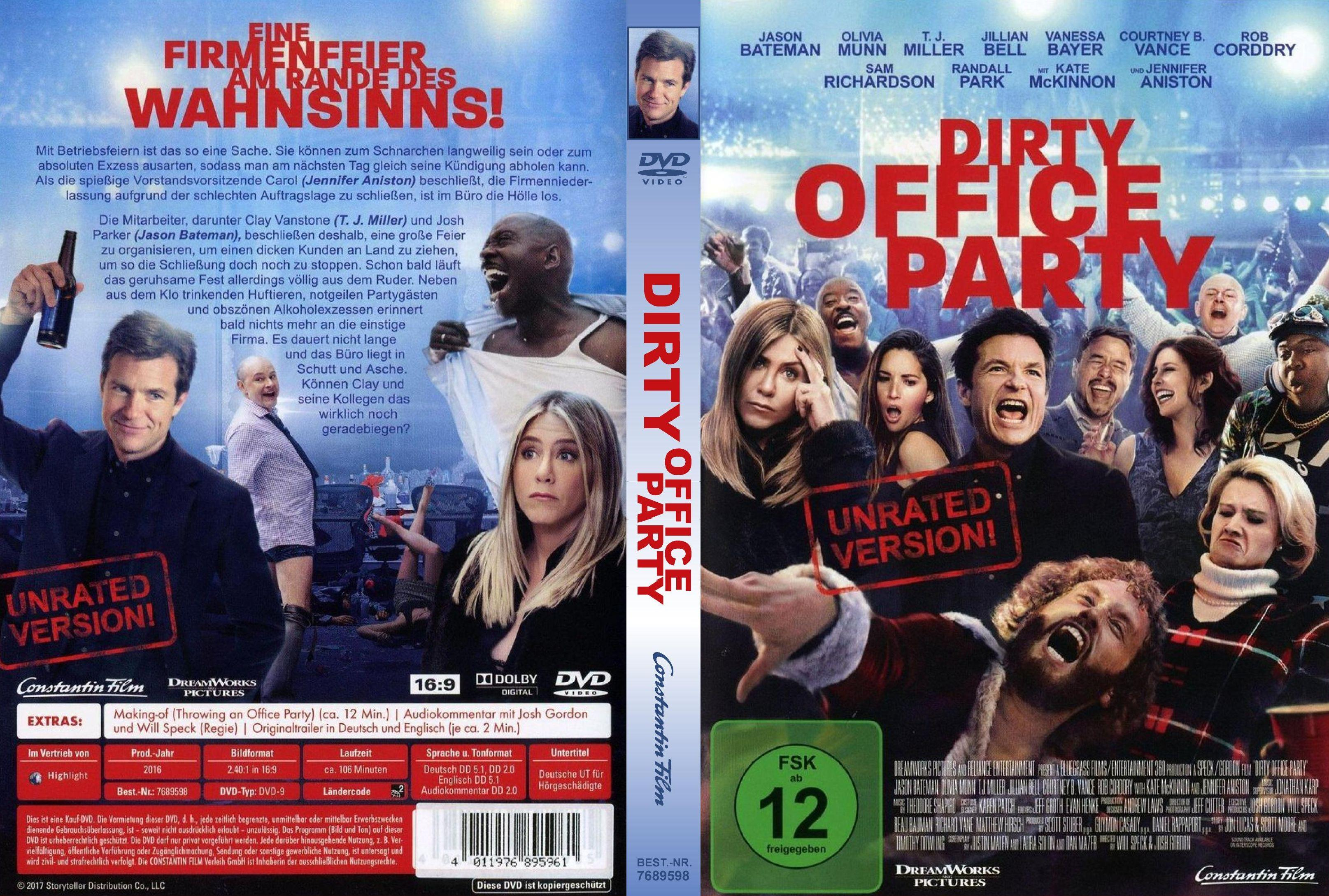 Dirty Office Party (2017) | German DVD Covers