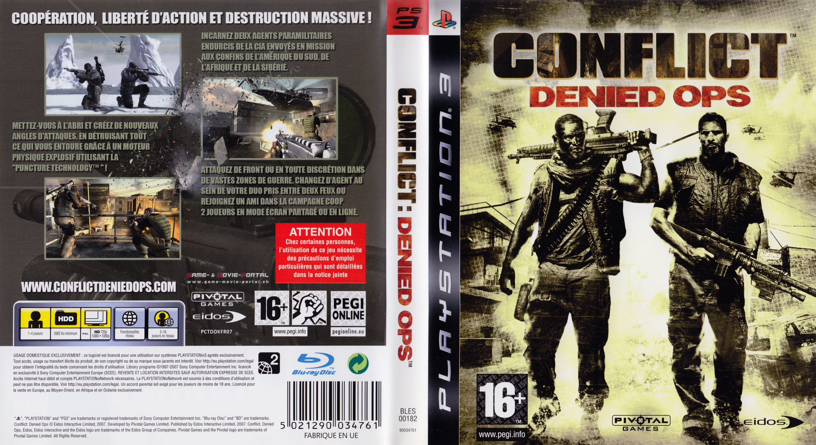 Conflict Denied Ops German Ps3 Cover German Dvd Covers