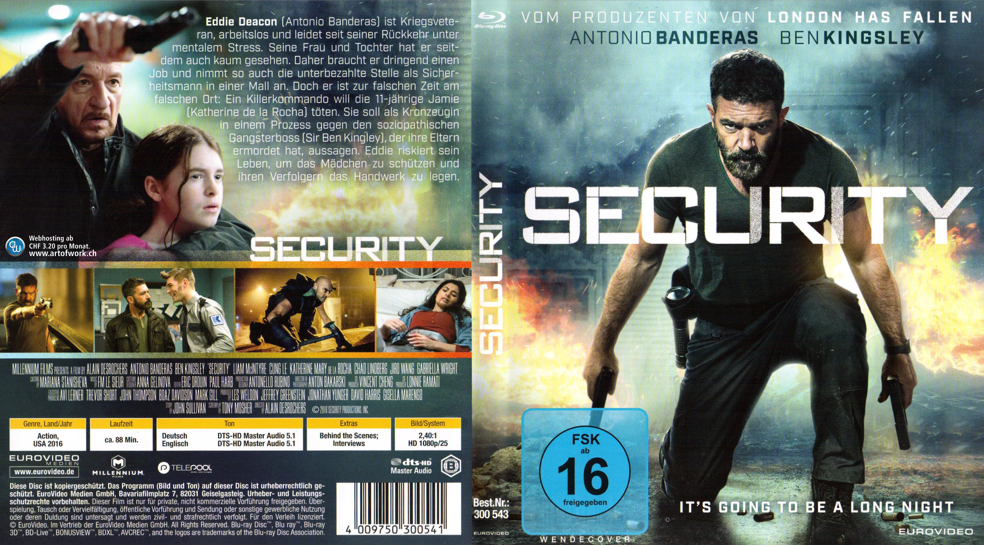 how to open security dvd