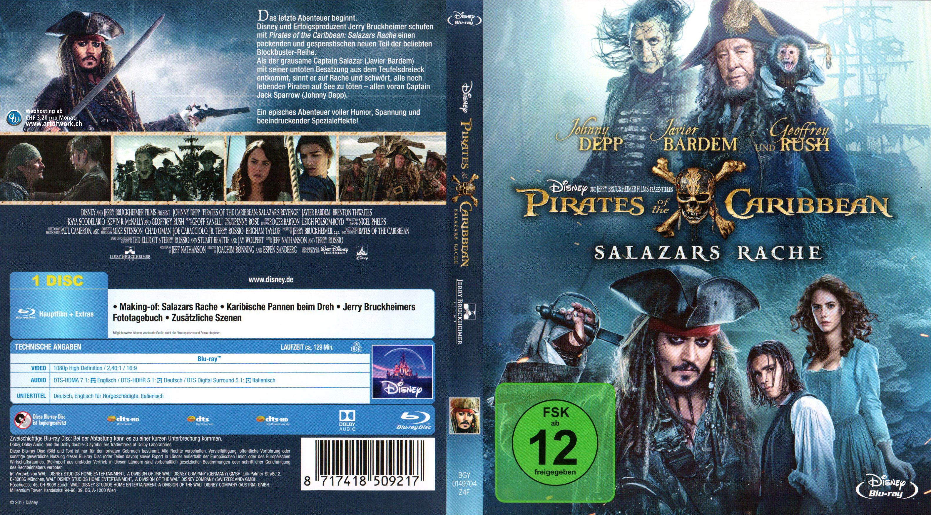pirates of the caribbean deutsch