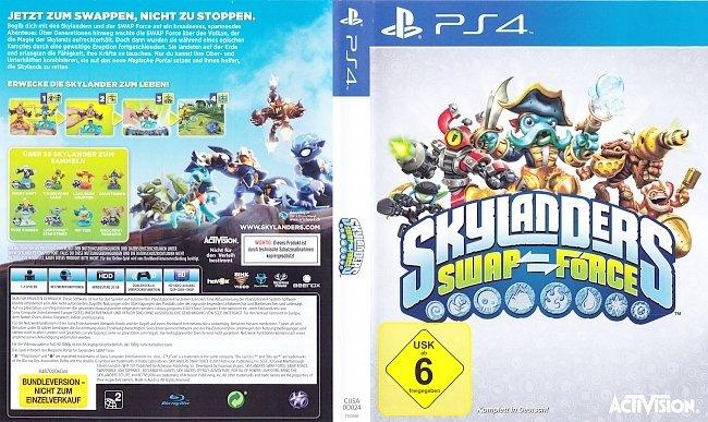 Skylanders Swap Force Cover PS4 Deutsch German german ps4 cover