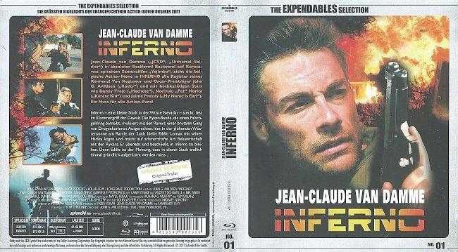 Inferno Blu ray Cover Deutsch German german blu ray cover