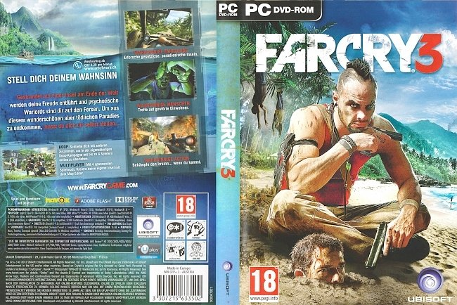 Far Cry 3 Deutsch PC Cover German pc cover german