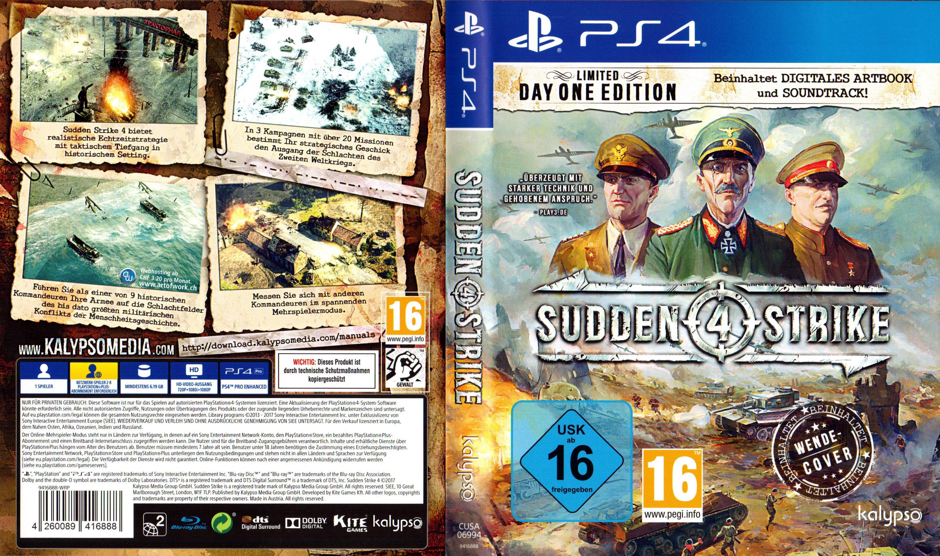 السلام عليكم ورحمة الله وبركاته تحميل لعبه Sudden Strike 4.