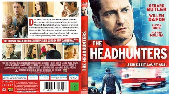 The Headhunters Cover Deutsch German Gerard Butler german blu ray cover