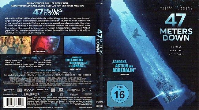 47 Meters Down Cover Deutsch Blu ray German german blu ray cover