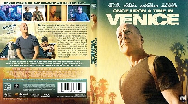 Once Upon a Time in Venice Cover German Deutsch Bluray german blu ray cover