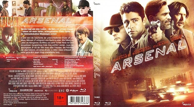Arsenal Cover Deutsch German BR german blu ray cover