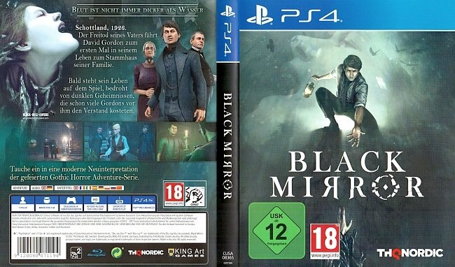 Black Mirror PS4 Deutsch German german ps4 cover