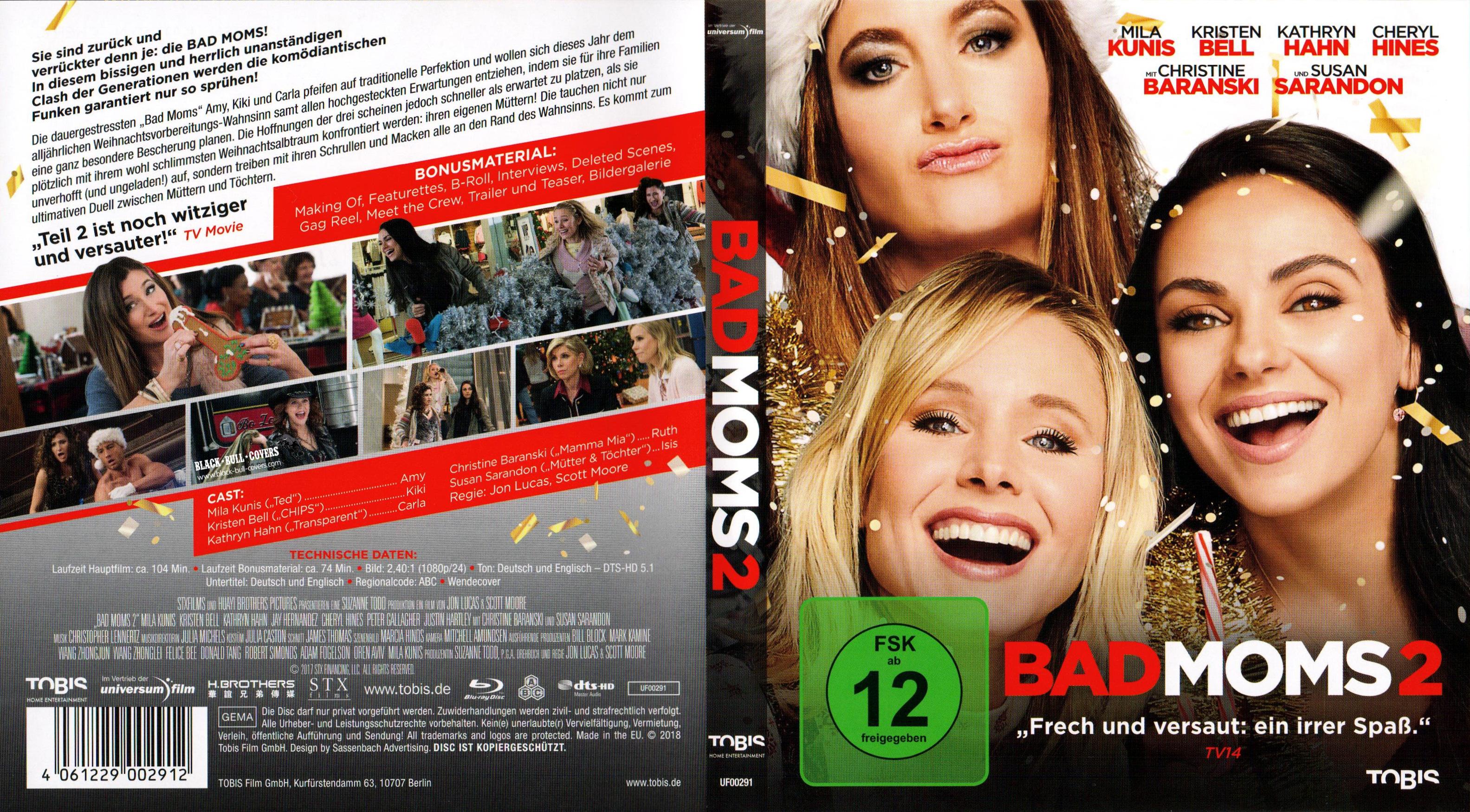 Bad Moms 2 Cover Deutsch German German Blu Ray Cover German Dvd Covers