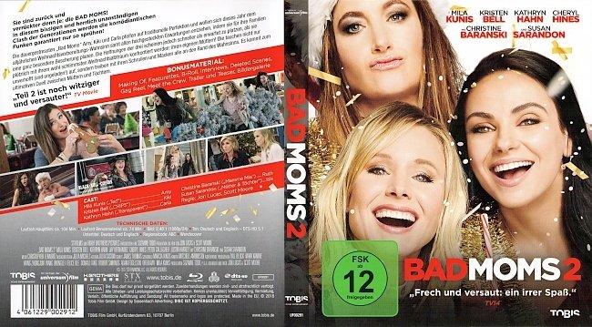 Bad Moms 2 Cover Deutsch German german blu ray cover
